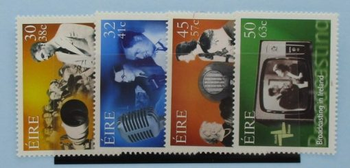 Ireland Stamps, 2001, SG1396-1399, Mint 3