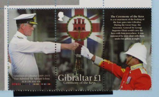 Gibraltar Stamps, 2013, SG1544, Mint 3