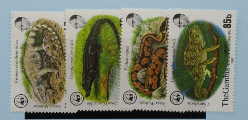 Gambia Stamps, 1981, SG460-463, Mint 2