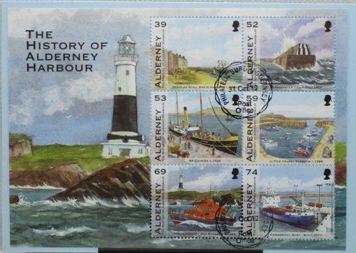 Alderney Stamps, 2012, MSA473, Used 2