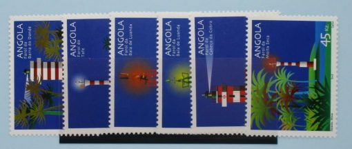 Angola Stamps, 2002, SG1655-1660, Mint 2