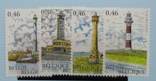 Belgium Stamps, 2006, SG3997-4000, Mint 2