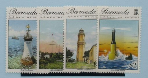 Bermuda Stamps, 1996, SG761-764, Mint 2
