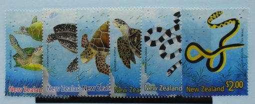 New Zealand Stamps, 2001, SG2386-2391, Mint 3