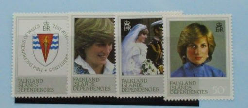 Falkland Island Dependencies Stamps, 1982, SG108-111, Mint 2