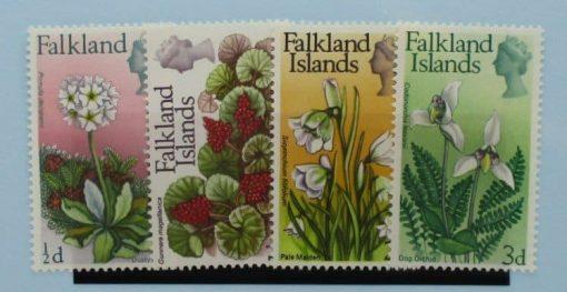 Falkland Islands Stamps, 1968, SG232-235, Mint 3