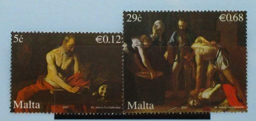 Malta Stamps, 2007, SG1550-1551, Mint 3