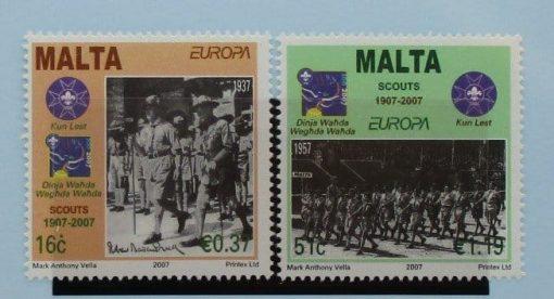 Malta Stamps, 2007, SG1541-1542, Mint 3