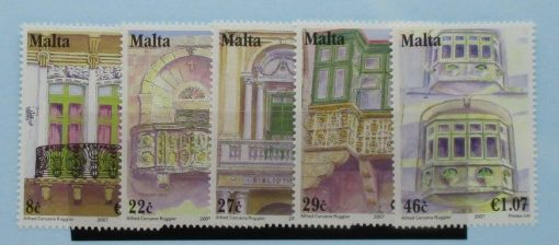 Malta Stamps, 2007, SG1535-1539, Mint 3