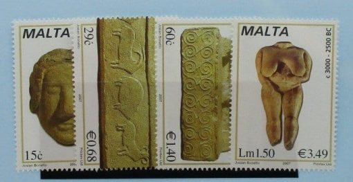 Malta Stamps, 2007, SG1515-1518, Mint 3
