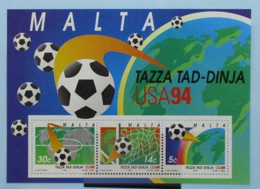 Malta Stamps, 1994, MS968, Mint 3