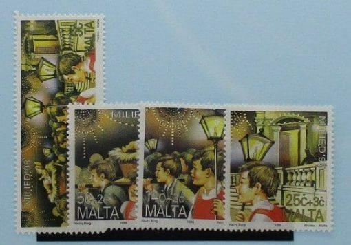 Malta Stamps, 1995, SG1004-1007, Mint 3