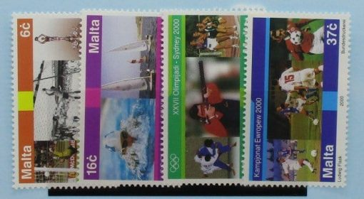 Malta Stamps, 2000, SG1170-1173, Mint 3