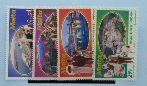 Malta Stamps, 2000, SG1166-1169, Mint 3