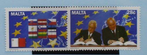 Malta Stamps, 2004, SG1371-1372, Mint 3