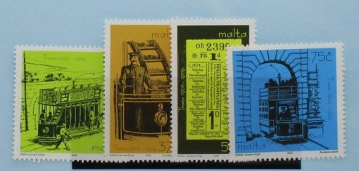Malta Stamps, 2004, SG1380-1383, Mint 3