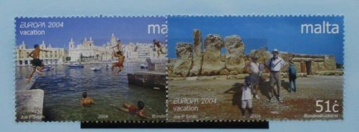 Malta Stamps, 2004, SG1373-1374, Mint 3