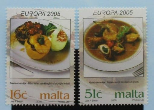 Malta Stamps, 2005, SG1428-1429, Mint 3
