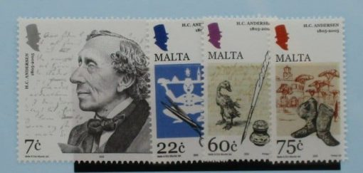 Malta Stamps, 2005, SG1407-1410, Mint 3