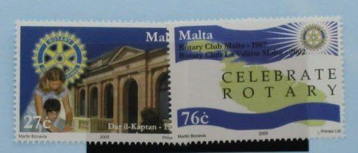 Malta Stamps, 2005, SG1405-1406, Mint 3
