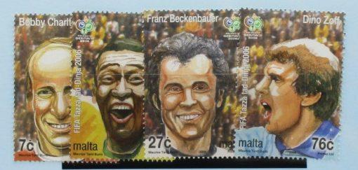 Malta Stamps, 2006, SG1484-1487, Mint 3