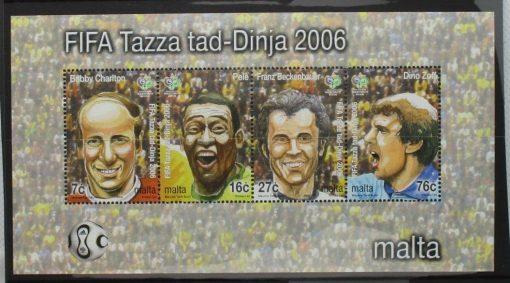 Malta Stamps, 2006, MS1488, Mint 3