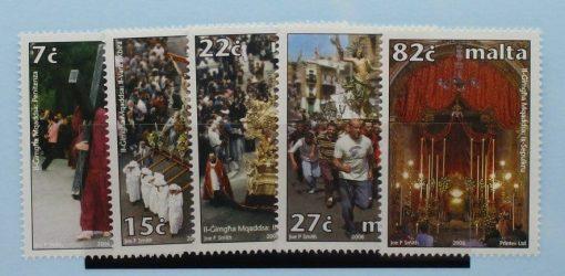 Malta Stamps, 2006, SG1477-1481, Mint 3