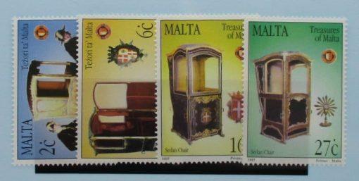 Malta Stamps, 1997, SG1042-1045, Mint 3