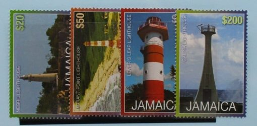 Jamaica Stamps, 2011, SG1169b, SG1171b, SG1172b, SG1175b, Mint 2