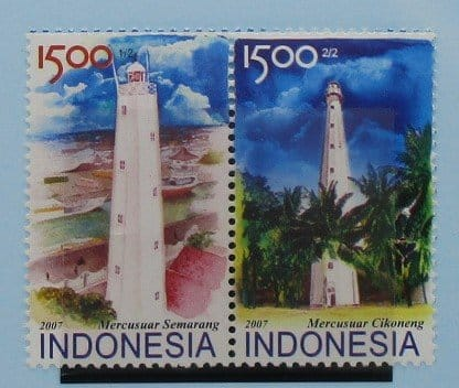 Indonesia Stamps, 2007, SG3147-3148, Mint 1