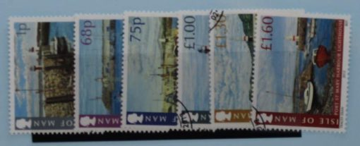 Isle of Man Stamps, 2012, SG1743-1748, Used 3