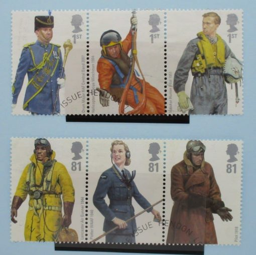 Great Britain Stamps, 2008, SG2862a, SG2865a, Used 3