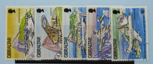 Gibraltar Stamps, 1978, SG407-411, Used 3