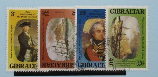 Gibraltar Stamps, 1980, SG437-440, Used 3