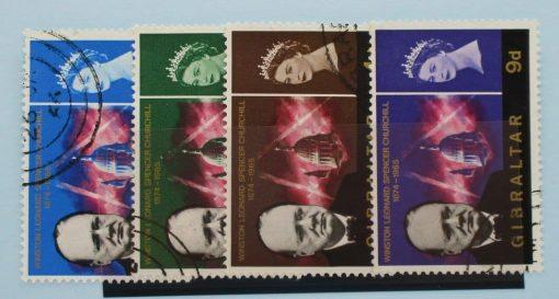 Gibraltar Stamps, 1966, SG184-187, Used 3