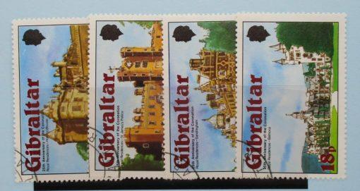 Gibraltar Stamps, 1978, SG400-403, Used 3