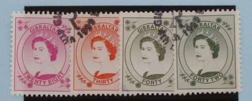 Gibraltar Stamps, 1999-2001, SG864-867, Used 3