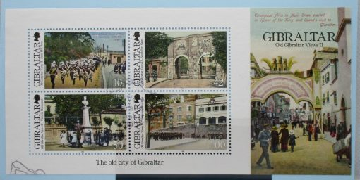 Gibraltar Stamps, 2012, MS1475, Used 3