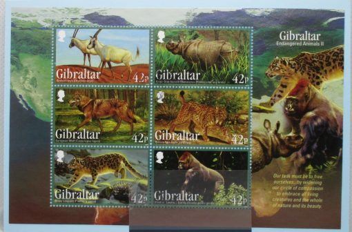Gibraltar Stamps, 2012, MS1482, Used 3