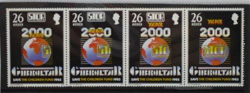 Gibraltar Stamps, 1985, SG518a, Mint 3