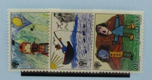 Faroe Islands Stamps, 1979, SG44-46, Mint 3