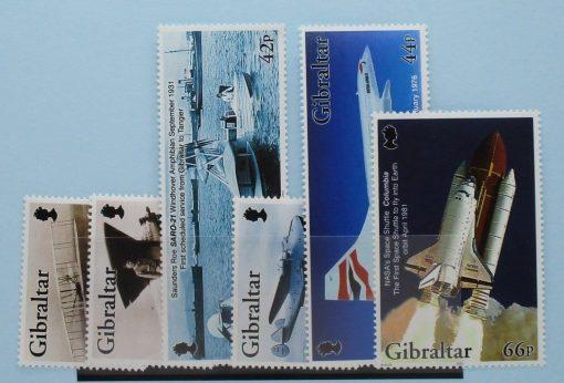 Gibraltar Stamps, 2003, SG1045-1050, Mint 3