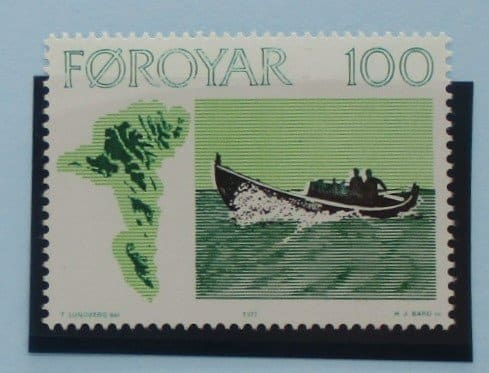 Faroe Islands Stamps, 1977, SG23, Mint 3