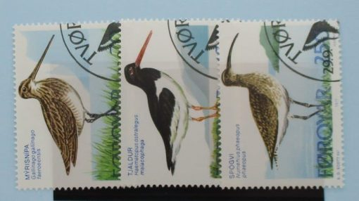 Faroe Islands Stamps, 1977, SG27-29, Used 3