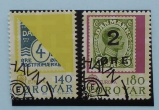 Faroe Islands Stamps, 1979, SG42-43, Used 3