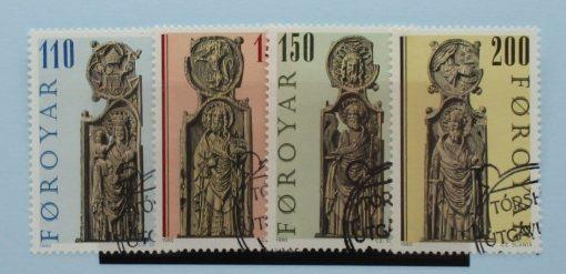 Faroe Islands Stamps, 1980, SG54-57, Used 3