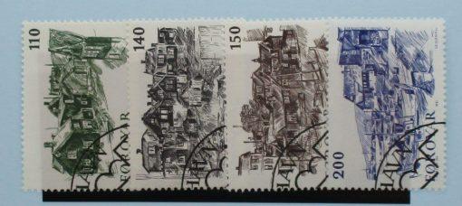 Faroe Islands Stamps, 1981, SG58-61, Used 3