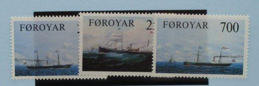 Faroe Islands Stamps, 1983, SG78-80, Mint 3