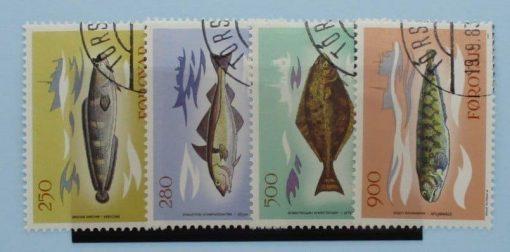Faroe Islands Stamps, 1983, SG85-88, Used 3