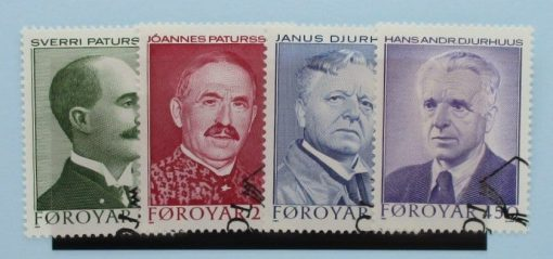 Faroe Islands Stamps, 1984, SG96-99, Used 3